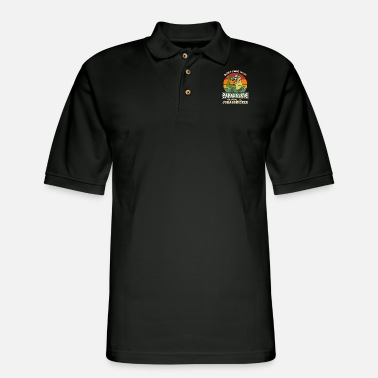 Don't Mess With PapaSaurus You'll Get JurassKicked - Men's Pique Polo Shirt
