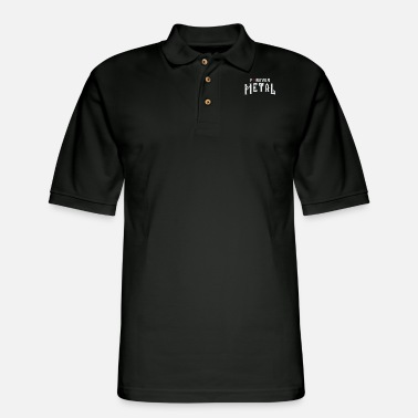 Metal Rock Metal rock - Men's Pique Polo Shirt