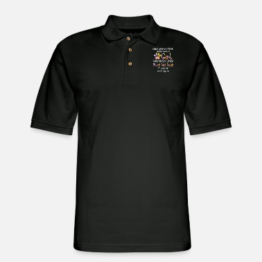once upon a time there was a girl who really loved - Men's Pique Polo Shirt