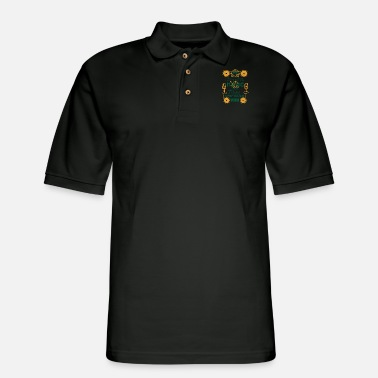 Hip Music Electro Hip Hop Techno Festival Gift - Men's Pique Polo Shirt