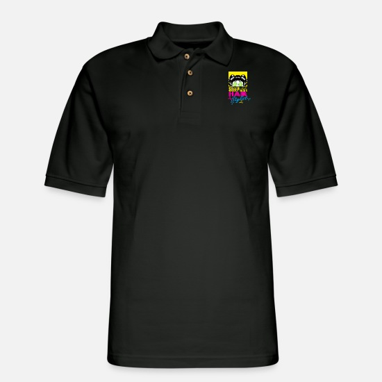Studio Polo Shirts - Hair stylist - Men's Pique Polo Shirt black