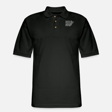 I'm Just A Girl Standing In Front Of - Men's Pique Polo Shirt