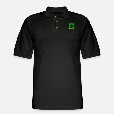 Dunking DUNK DUNK DUNK - Men's Pique Polo Shirt