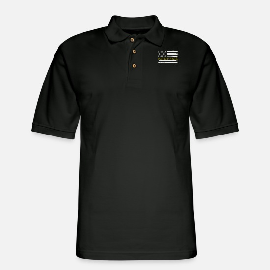 Paintball Polo Shirts - Paintball - Men's Pique Polo Shirt black