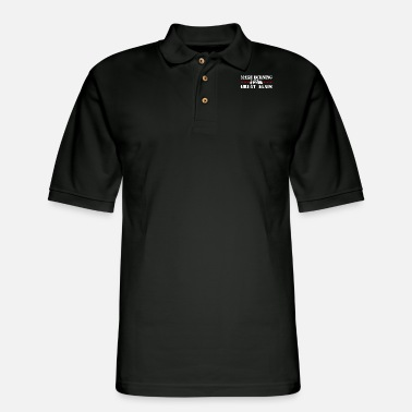 Service Wildland Firefighter Make Burning Great - Men's Pique Polo Shirt