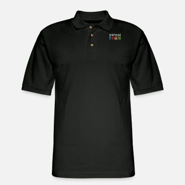 50s 50. Birthday - Men's Pique Polo Shirt