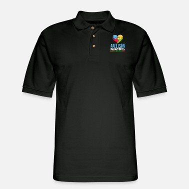 Autism Awareness Accept Understand Love Autism Awareness Day Month - Men's Pique Polo Shirt
