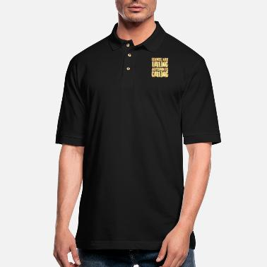 Fall Fall - Men's Pique Polo Shirt