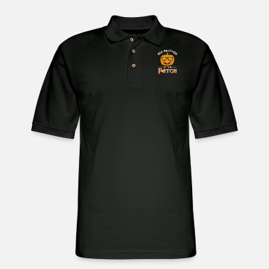 Toddlers Big Brother Of The Patch Halloween Matching gift - Men's Pique Polo Shirt