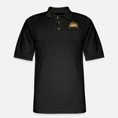 Logo Everything I Wanted Distressed Sunset Gift Music F - Men's Pique Polo Shirt
