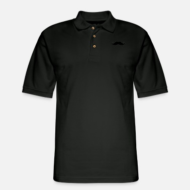 Moustache moustache - Men's Pique Polo Shirt