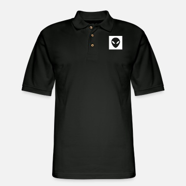 Fantasy aliens are my friends - Men's Pique Polo Shirt