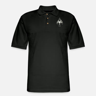 Pik Pik skull - Men's Pique Polo Shirt