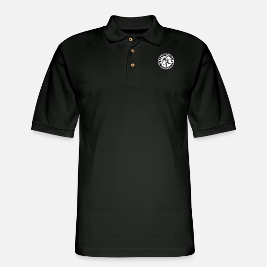 Bowling Club Polo Shirts - Bowling Competition - Men's Pique Polo Shirt black