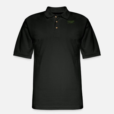 Motto Engineer's Motto - Men's Pique Polo Shirt