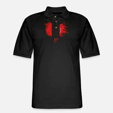 Splatter splatter - Men's Pique Polo Shirt