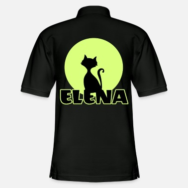 Name Day Elena Name day first name personal gift moonlight - Men's Pique Polo Shirt