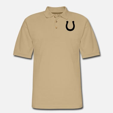 Horseshoe Horseshoe - Men's Pique Polo Shirt