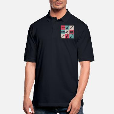 Instruments Musical instruments - Men's Pique Polo Shirt