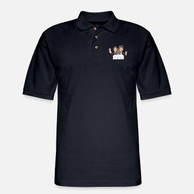 Wedding Couple Wedding Couple - Men's Pique Polo Shirt