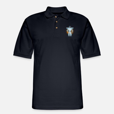 Robot Robots and robotics - Men's Pique Polo Shirt