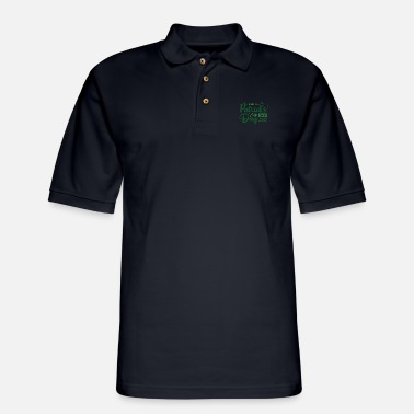 Leaf Funny Irish Quote St Patricks Day Design - Men's Pique Polo Shirt