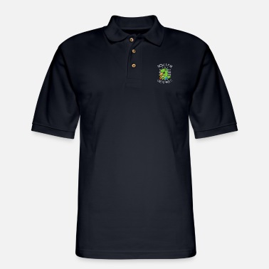 Lizard Now i am unstoppable - Men's Pique Polo Shirt