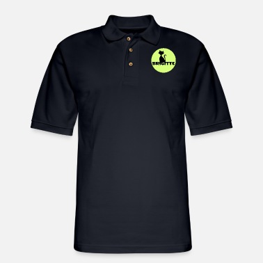 First Name Brigitte name first name - Men's Pique Polo Shirt