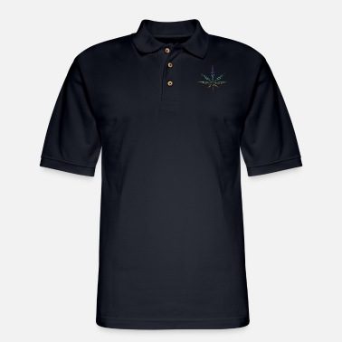 Cannabis cannabis - Men's Pique Polo Shirt