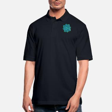Atom Atom Neon Atom - Men's Pique Polo Shirt