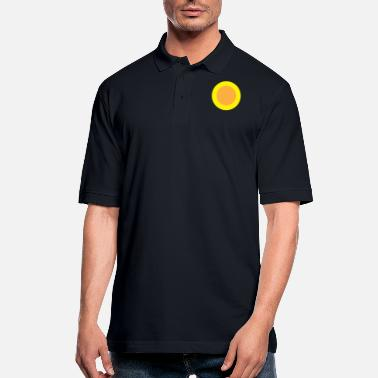 Circle Circle Circle - Men's Pique Polo Shirt
