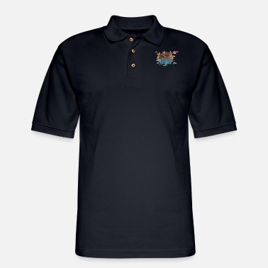 Island Island - Men's Pique Polo Shirt
