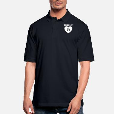 Playing And play - Men's Pique Polo Shirt