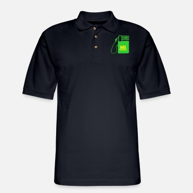 Gas gas refill - Men's Pique Polo Shirt