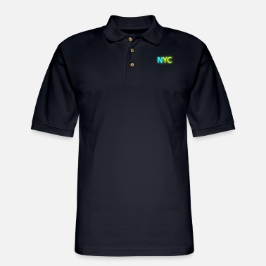 Nyc NYC - Men's Pique Polo Shirt