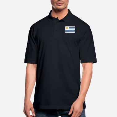 Bandera Bandera de Uruguay - Men's Pique Polo Shirt