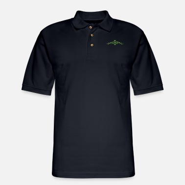 Shamrock Celtic Knot Shamrock St Patricks Day Shamrock - Men's Pique Polo Shirt