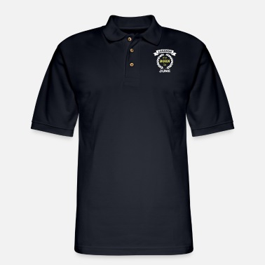 Born In are born in - Men's Pique Polo Shirt