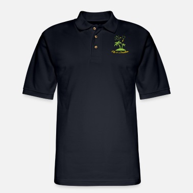 Vacation Vacation - life is a vacation - Men's Pique Polo Shirt