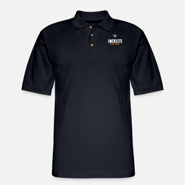 Insect Insects - Insects are cool - Men's Pique Polo Shirt