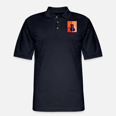 Cello Cello and Cello player - Men's Pique Polo Shirt