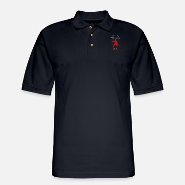 I Just Need Aikido Funny - Men's Pique Polo Shirt