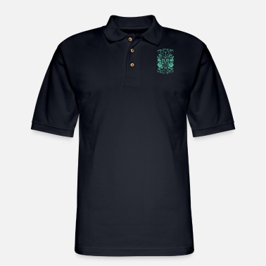 dream as if u will live forever brother t shirts - Men's Pique Polo Shirt