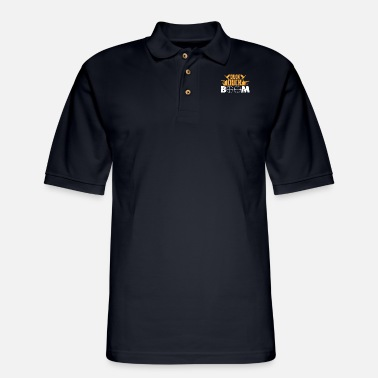 Duck Duck Boom Hunting - Men's Pique Polo Shirt