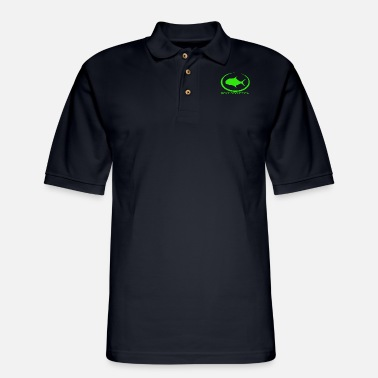 Life Long Sleeve Fishing Saltwater - Men's Pique Polo Shirt