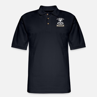 my craft allows me to disarm mines anywhere in the - Men's Pique Polo Shirt