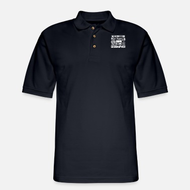 Geographic Geographer - Men's Pique Polo Shirt