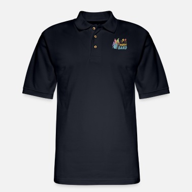 Music Band - Men's Pique Polo Shirt