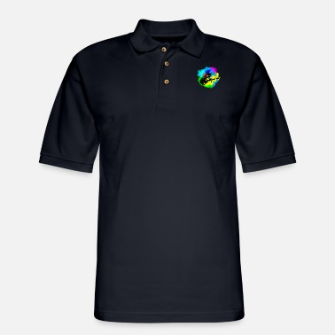Astronaut Guitar Jams | Art & Science - Men's Pique Polo Shirt