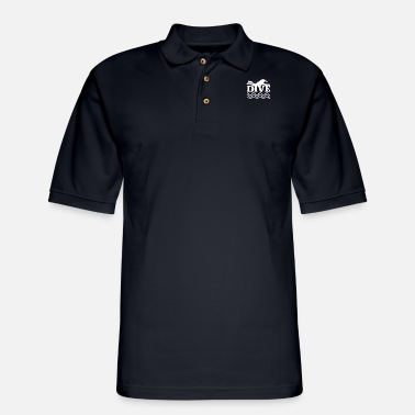 Scuba Dive Underwater Snorkel Divers Gift Idea - Men's Pique Polo Shirt
